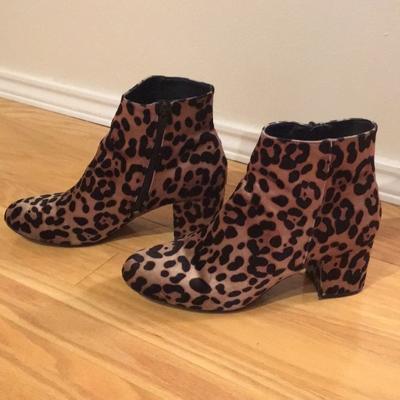 1dfd63e5a963 a new day Shoes - ⚡️A New Day Leopard Ankle Boots